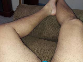 I\'ve been told I have nice legs. I think so.