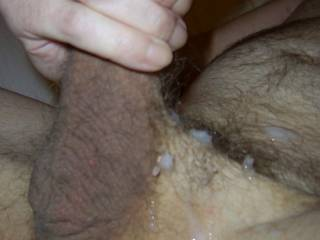 Just shot a load all over ..who\'s gonna clean me up?