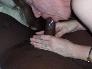 finishing a good blowjob with a good swallow