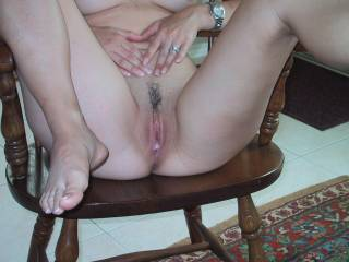 Lov to add to that load, i am read to unload..Looks like a nice tight pussy..