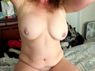 id like to stretch your milf pussy you are pure sex i love your real womans natural body and pretty smile