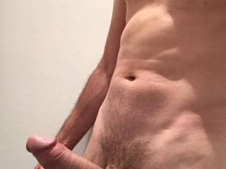 Very Nice Cock!  Would you like to fuck me bareback with that hot cock?  Michelle