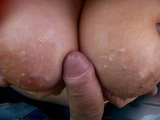 could we lick and suck them clean for you? x