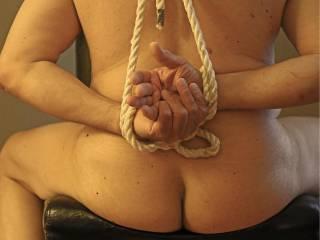 My friend took pictures of me tied up before she spanked me with her belt.  She showed it to her friends and told me afterward.  I was wondering why one of her friends asked me if it hurt.  Like this let me know and I will do more with Sonja.
