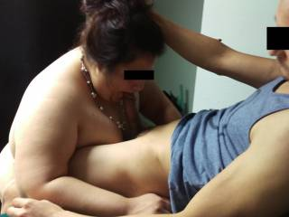 She loves sucking & fucking. Not many men can hang or last with her.