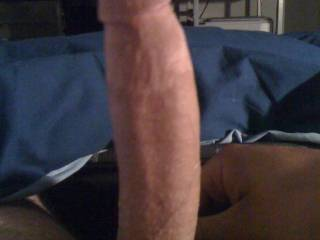 lick your balls and slow suck your huge cock till you cum in my hot fuckin mouth.
