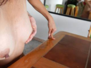 ahhh yes... It's gets a reciprocal squeeze from my guy~! I think I'll suck his cock... what to watch??