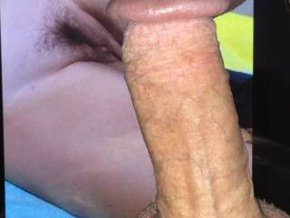 My cock for your sweet pussy.