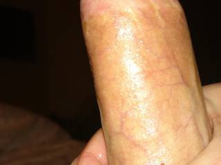 Shaved cock