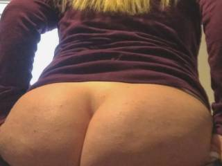 This is why i wear yoga pants everyday. Getting my butt to fit into jeans is hard work lol.