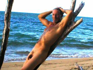 I took a cruize in Hawaii a few years back and at every port I found a place to get naked and soak in some sun. Took a few pictures and wanted to share them with all of you. Hope you enjoy, I like posing thats for sure. I like being naked most of all.