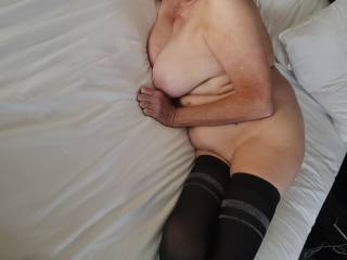 Kathie at hotel waiting for you