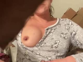 My pussy feels so good.