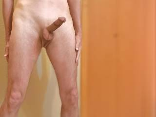My naked body with hard cock.