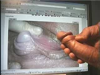 This clit (she-cock, female dick) is very impressive. Her glans is big like a male glans, some cock.heads are even smaller!