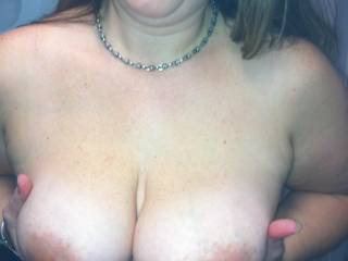 25 minutes later. BAM robotitties. I fuckin love this bitch. If y'all wanna see the  hoohaa pierced lets get commenting. And voting.