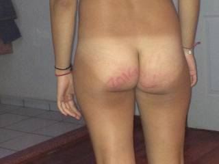 look at my taned ass