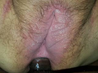 She kept begging me to put my cock in her ass the other night. She said it was way to big in there but kept fucking it anyway!