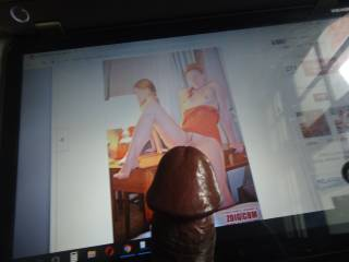 Is my cock too fat for your little pussy ms MiouMiou81? I don't hurt you ....