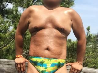 Bikini, speedo, thongs, underwear, sunbathing, Fire Island