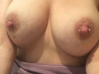 Wife amazing tits