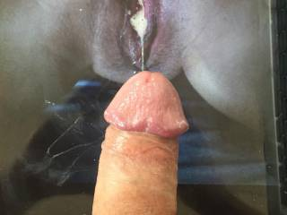 Picdetective makes my dick soo wet!! dripping lots of precum for u!! right on ur asshole and pussy!! would love to lick both after a good fuck!! anyone else wants a tribute?