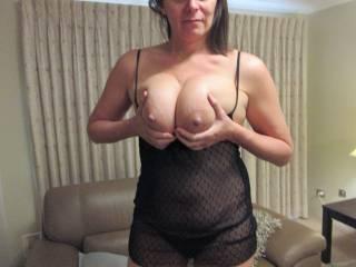 Who would like a tit fuck?