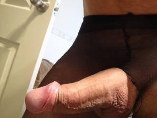 Pantyhose crossdressing