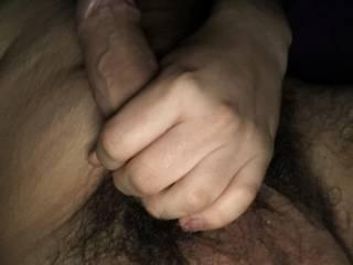 Teen hairy uncut cock