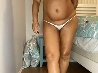 How do you like the new bikini a friend got me?