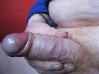 great thick cock and boy what a head on it mmm