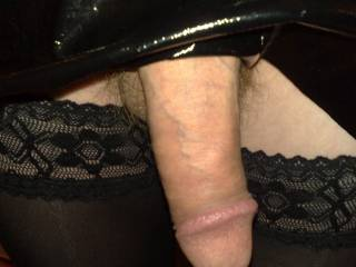 Wanna wear mine..and let me play with that cock..?  K