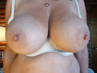 Just my GFs big tits out last weekend for your pleasure