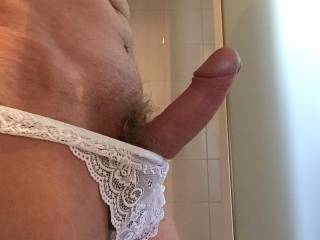 ...and such a fuckable cock!  I'd love to sit on that...