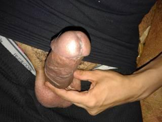 uncut cock with huge veins