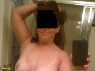 Sending my man a selfie before work...Would you like one too?