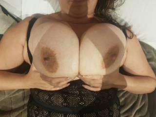 do you guys like her huge tits ???......