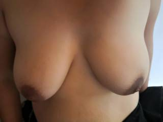 Tits of my new young girl