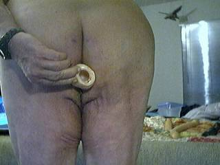 love to have my fat cock up that mature arse