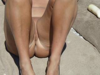 mmm looks very hot  nice legs lol xxx