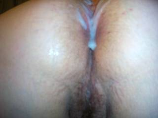 """She wanted it """"in"""" the ass, I'll cum """"in"""" it next. Great pic!"""