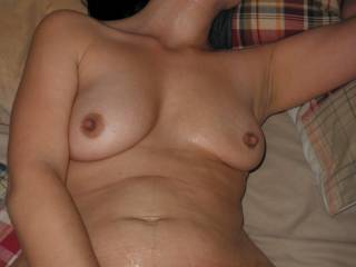 Have mine anytime. Love to fuck your gorgeous body until you cum over my cock and balls.