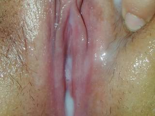 Loves to spread those lips for the camera. Big dildo fucked her tight pussy