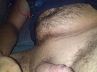 My Husbands dick deserves a nice wet treat tonight, anybody want to let me teach them exactly how he likes his cock licked??