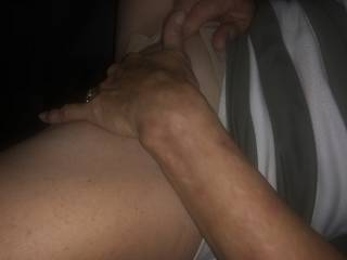 Playing with my hot dripping wet pussy squirting it everywhere. The thought of being fucked and sucking off a group of men really gets it flowing. Who's cumming I want all of you.,