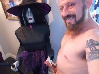 This Beeautiful Witch Loves touching my Bigg Cock!