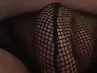 Cock in New fishnet