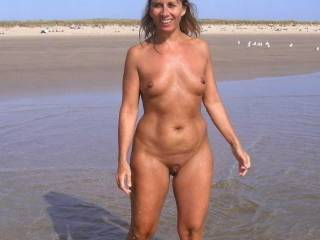 Me nude at the beach