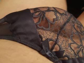 Semi see through panties are so good