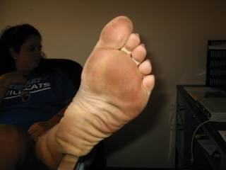 I need to lick them clean for you